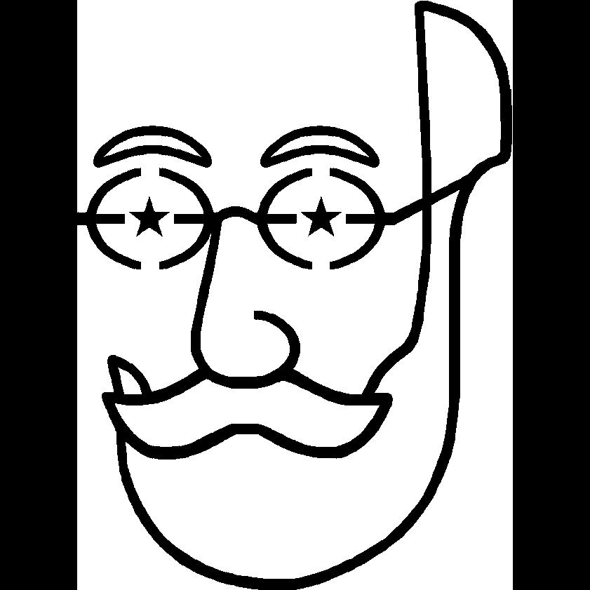 ציור מינימליסטי של זמנהוף