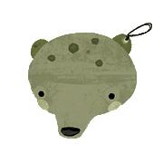 ציור של אוקרינה בצורת דוב